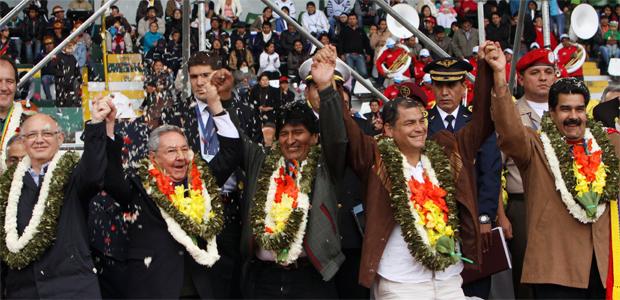 Evo, Castro, Correa y Maduro hacen llamado a la unidad frente a EEUU |  Erbol Digital Archivo