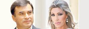 Juan Ramón Quintana y Gabriela Zapata