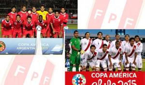 Selección peruana en 2011 y 2015