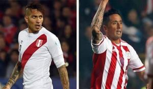 Pizarro (Perú) y Barrios (Paraguay) buscan llevar a su equipo quedarse con el tercer puesto de la Copa América Chile 2015