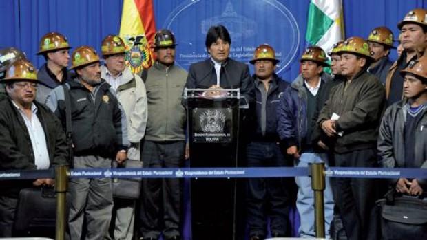 Mineros asalariados de Bolivia piden revertir cooperativas al Estado