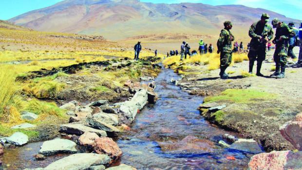 Evo Morales: Las aguas del Silala fluyen artificialmente hacia territorio chileno