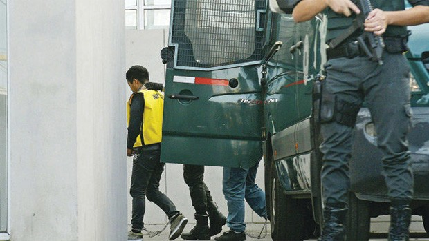 Declaran ante Fiscalía de Iquique los bolivianos detenidos en la frontera