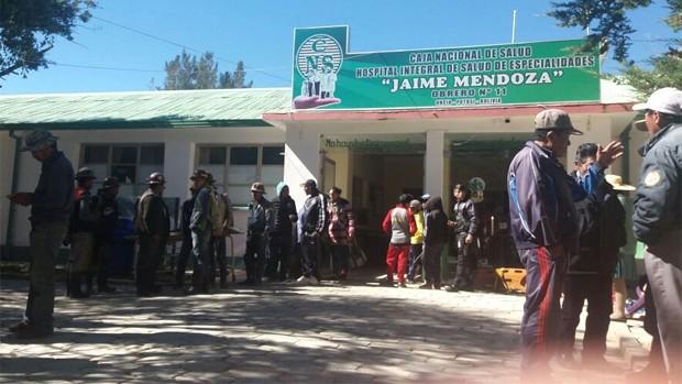 Cinco mineros mueren en la mina Siglo XX en Potosí