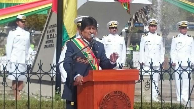 Evo dice a Chile que Bolivia no caerá en el juego de amenaza y provocación.