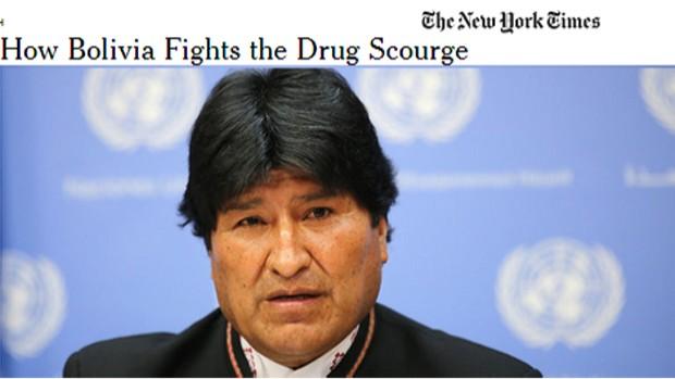 Evo Morales dice que ha puesto