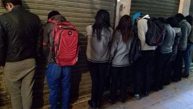 El Alto: Policía interviene fiesta privada con escolares