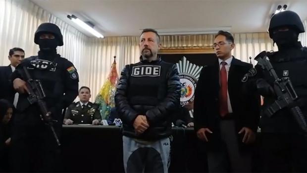 Detienen en Bolivia al capo de la droga italiano Paolo Lumia