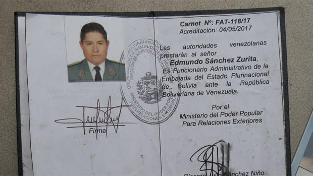 Niegan presencia de militar boliviano en represión en Venezuela