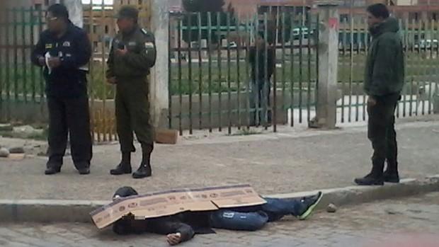 Joven minero es asesinado con dos balazos en El Alto