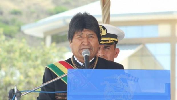 Evo reclama a Chile por cerrarse a dialogar — Mar