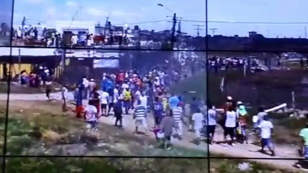 Recapturan a cuatro de los seis reos que se fugaron de Palmasola