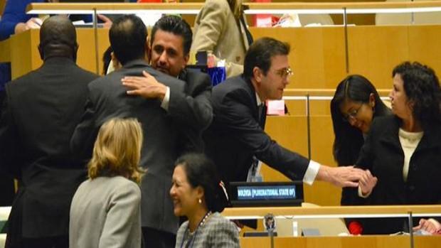 Bolivia es electa para el Consejo de DDHH de la ONU