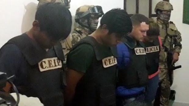 Envían a prisión a 4 implicados en el secuestro de joven chileno