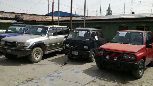 Operativo rayo de diprove halla garaje de autos robados - Garaje de coches ...