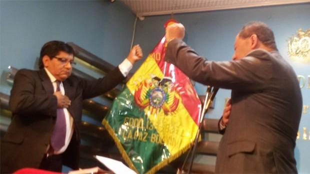Pedro Villa es posesionado como Viceministro de Régimen Interior