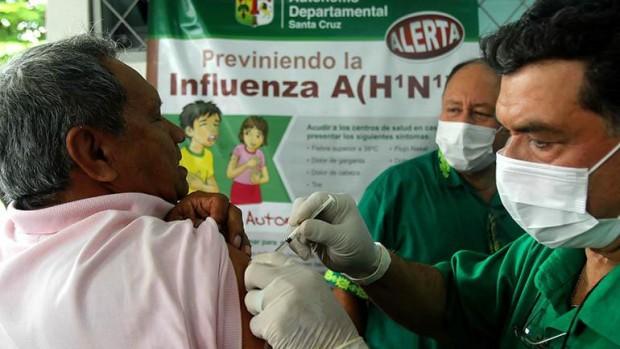 Bolivia inicia la vacunación contra la influenza tras registrar 21 muertes