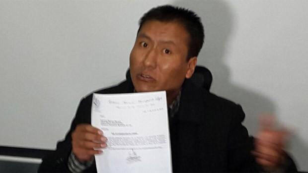 Director de Fondo Indígena procesará al diputado Rafael Quispe