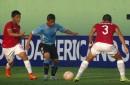 BOLIVIA CAE FRENTE A URUGUAY (3-1)