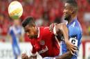 Inter vs Emelec en un partidazo por Copa Libertadores 2015
