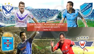 Fecha 10: San José vs Bolivar y Blooming vs Wilstermann los mas destacados