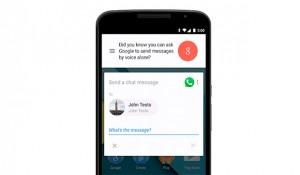 Usar Whatsapp por voz gracias a Google