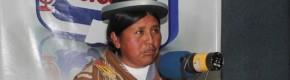 Felipa Huanca en ERBOL