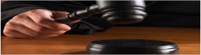 Mazo de veredicto de un Juez