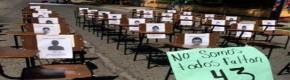 protesta 43 normalistas desaparecidos